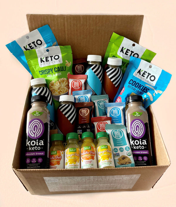 NEW Keto Kickstarter Box