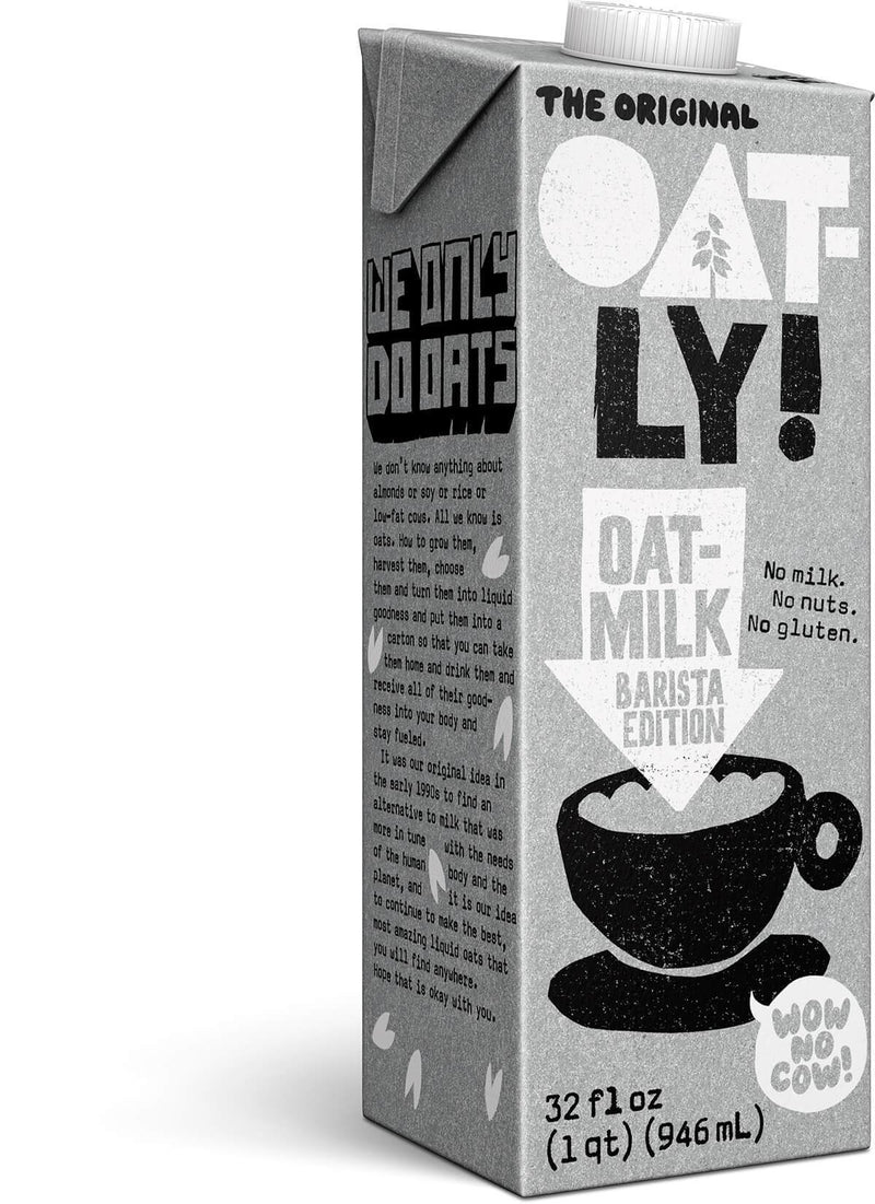 Oatly | Barista Edition Oatmilk, 32oz | Single-Unit