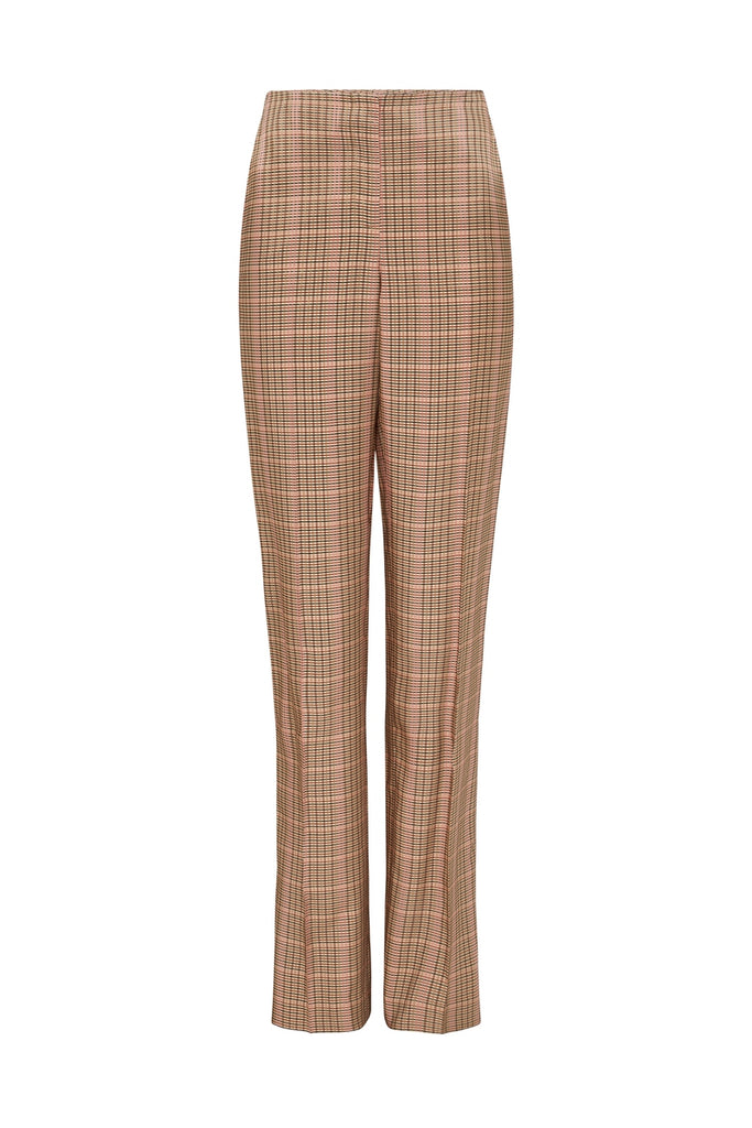 ROSEWOOD CHECK ACCENT PANT