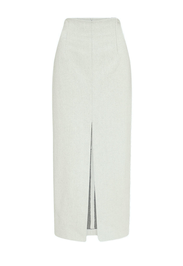 BONE TWILL DUVAL SKIRT