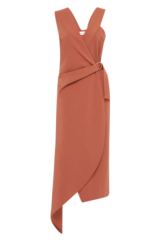COPPER SUITING CHLOE DRESS