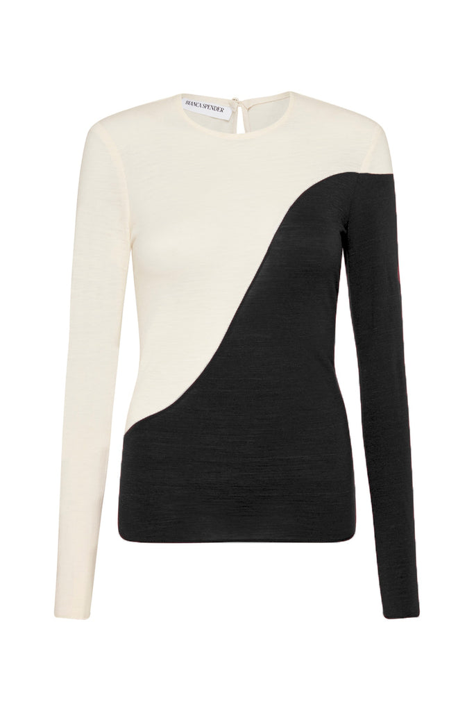 BLACK PONTE ENTOURAGE TOP