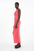 SPICED CORAL DEVIATION DRESS