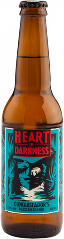 Heart of Darkness Conquistador Mexican Pilsner - 330ml - 4.2%