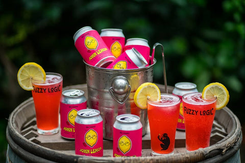 Fuzzy Logic Pink Lemonade (Lon) - 330ml - 5%