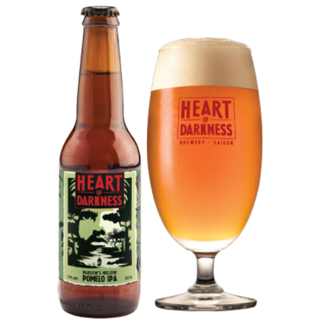 Heart of Darkness Marlow's Mellow Pomelo IPA - 330ml - 5.8%