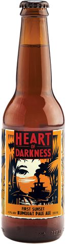 Heart of Darkness First Sunset Kumquat Pale Ale - 330ml - 4.5%
