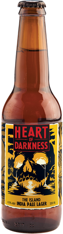 Heart of Darkness The Island Indian Pale Lager - 330ml - 4.5%