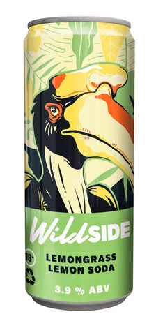 Wild SIDE LEMONGRASS LEMON SODA - 330ml - 3.9%