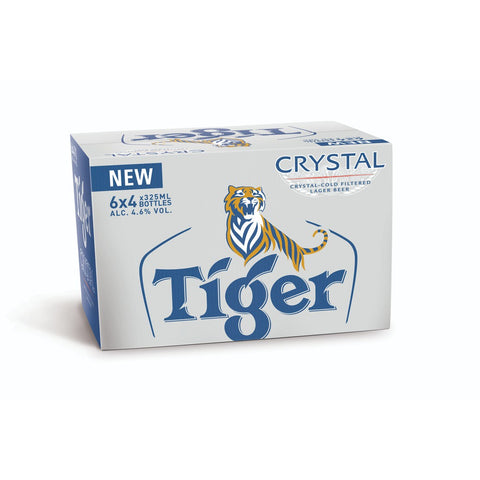 Tiger Crystal (Bottle) - 330ml - 4.6%