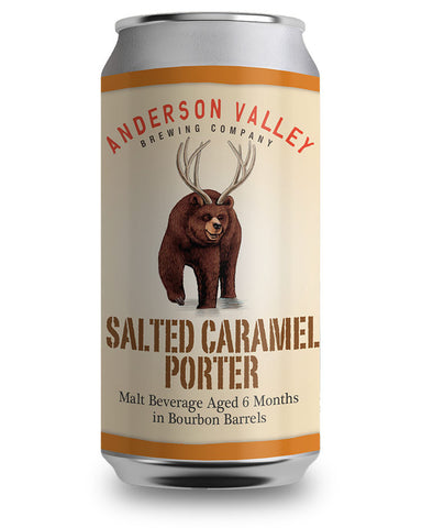 Anderson Valley Salted Caramel Porter (Can) - 355ml - 6%
