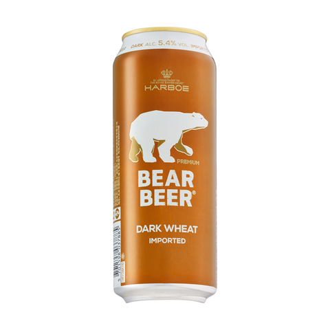Bear Beer Dark Wheat (Can) - 500ml - 5.4%