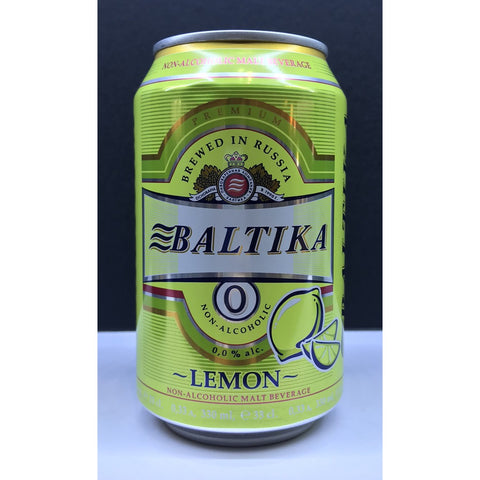 Baltika Lemon Non-Alcohol (Can) - 330ml - 0%