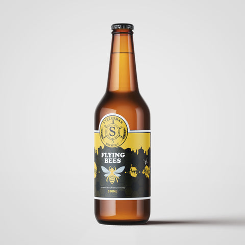 Steersman Flying Bees Honey Ale - 330ml - 4.9%