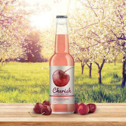 Cherish Cherry Spritzer - 330ml