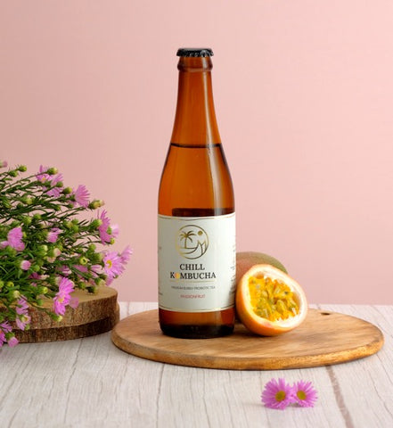 Chill Kombucha Passion Fruit - 330ml