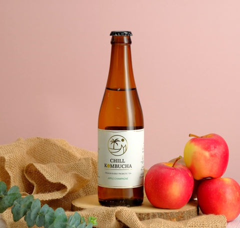 Chill Kombucha Apple Champagne - 330ml