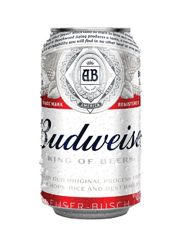 Budweiser (Can) - 330ml - 5%