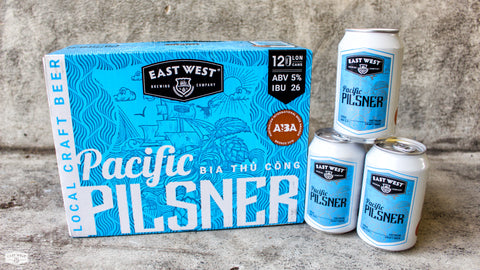 East West Pacific Pilsner (Can) - 330ml - 5%