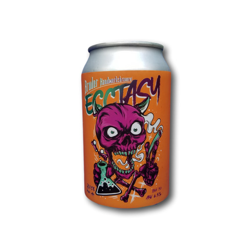 Bruder Ecstacy Passion Fruit Wheat Ale - 330ml - 3.5%