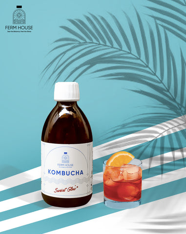 Fermhouse Kombucha Sunset Glow - 300ml