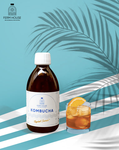 Fermhouse Kombucha Tropical Sunrise - 300ml
