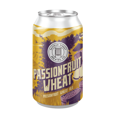 Pasteur Street Passion Fruit Wheat Ale (Can) - 330ml - 4%