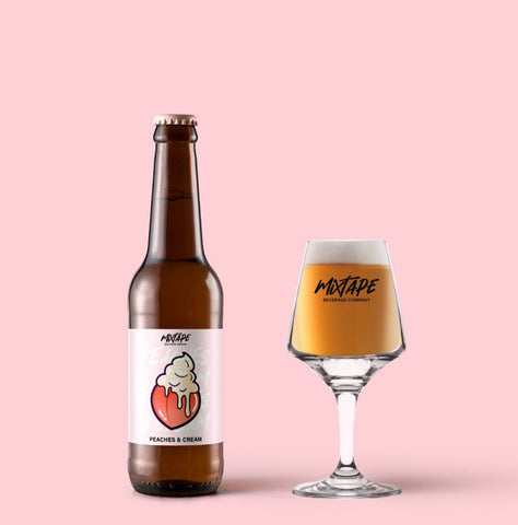 MixTape Peaches & Cream IPA - 330ml - 6.9%