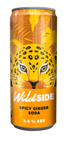 Wild SIDE SPICY GINGER SODA - 330ml - 3.9%