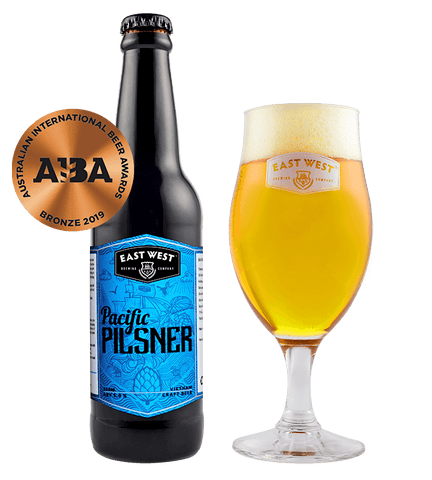 East West Pacific Pilsner - 330ml - 5%