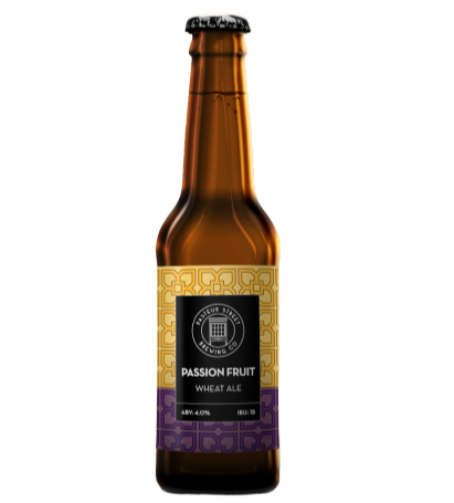 Pasteur Street Passion Fruit Wheat Ale - 330ml - 4%