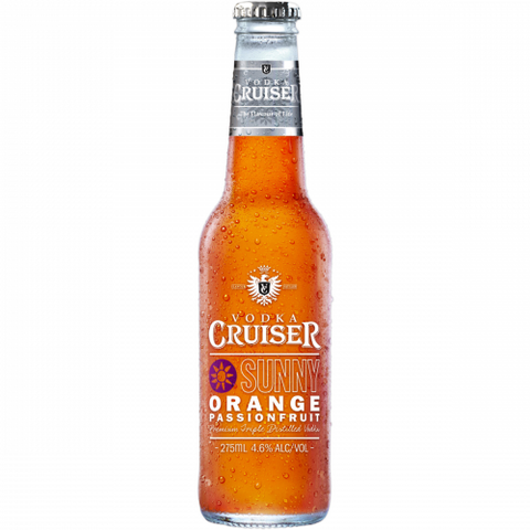 Vodka Cruiser Sunny Orange - 275ml - 4.6%