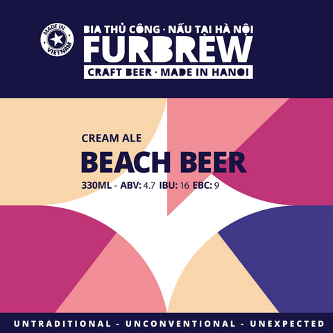 Furbrew Beach Beer - Cream Ale - 330ml - 4.7%