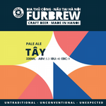Furbrew Tây - Pale Ale - 330ml - 5.3%