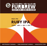 Furbrew Ruby IPA - Red IPA - 330ml - 5.4%