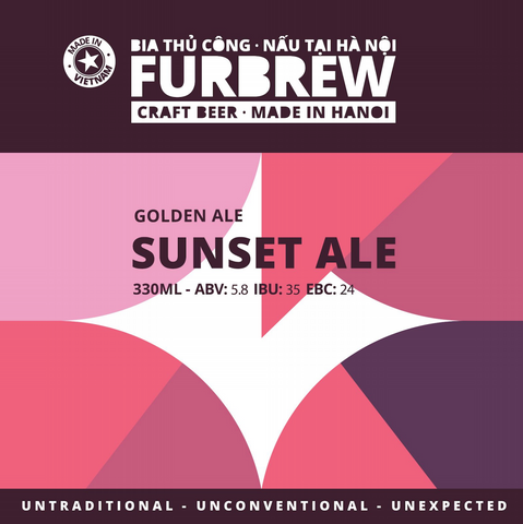 Furbrew Sunset Ale - Golden Ale - 330ml - 5.8%