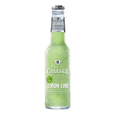 Vodka Cruiser Zesty Lemon & Lime - 275ml - 4.6%