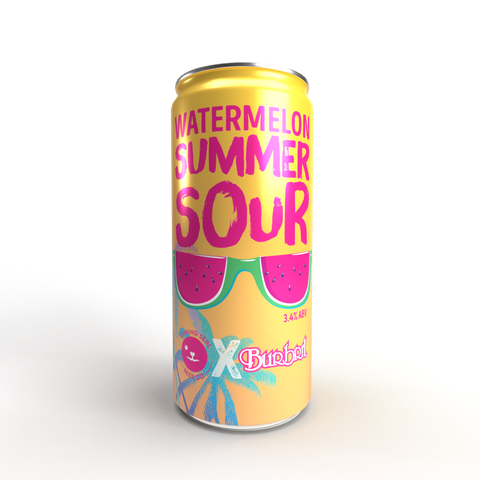 Watermelon Summer Sour - LIMITED EDITION! - 330ml - 3.4%