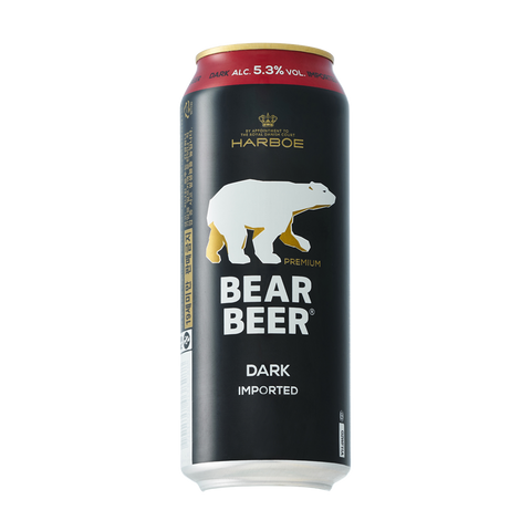 Bear Beer Dark (Can) - 500ml - 5.3%
