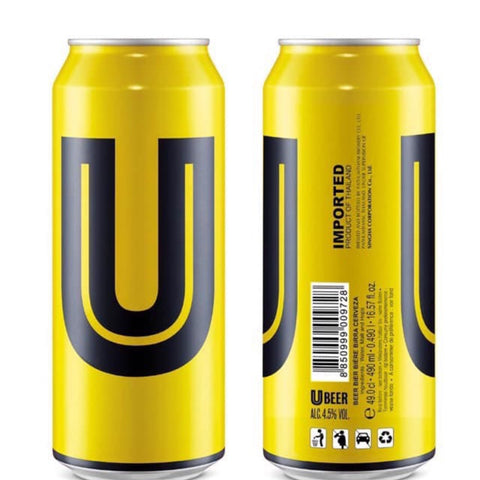 U Beer (Can) - 490ml - 5%