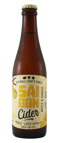 Saigon Cider Apple & Ginger - 330ml - 4.7%