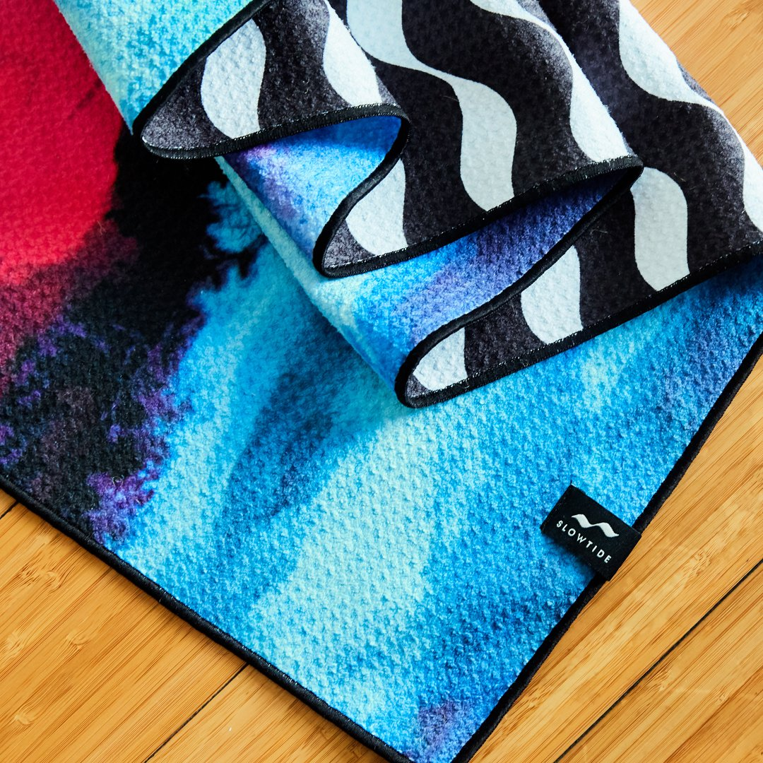 BLISSED OUT YOGA TOWEL