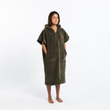 The Digs Changing Poncho - Green - Small