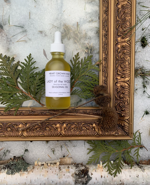 Lady of the Wood Birch Body Oil