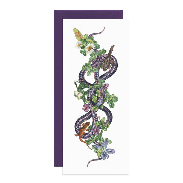 Familiars Blank Greeting Card