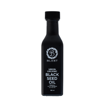 Organic Cold-Pressed Black Seed Oil 100ml - Premium Bottle