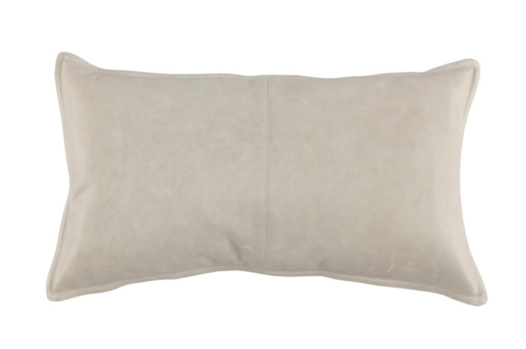 Mumford leather Pillow 14x26