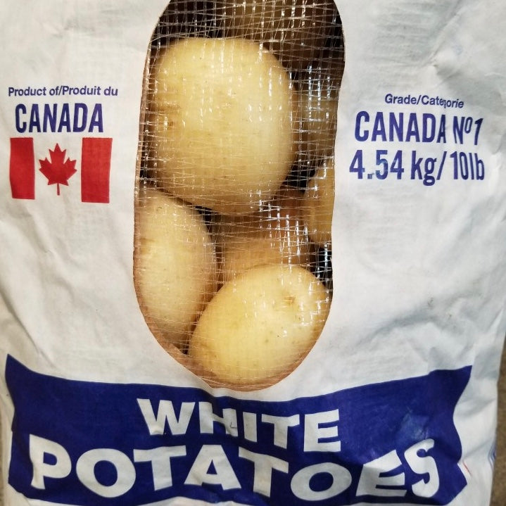 Ontario White Potatoes (10lb Bag)