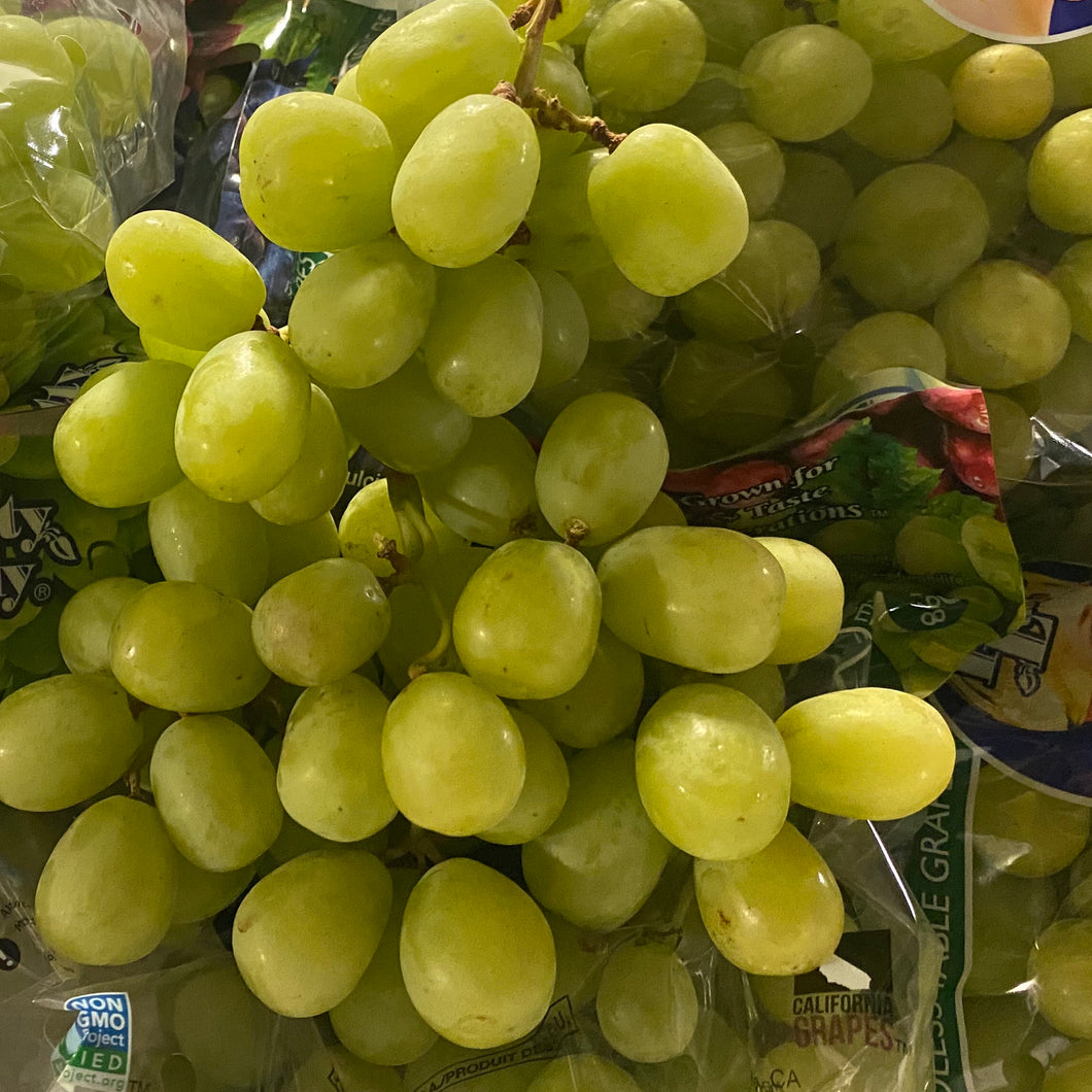 Green Seedless Grapes (1lb)