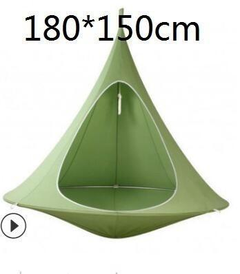 Kids Adults Camping Teepee Tree Silkworm Cocoon Swing Hanging